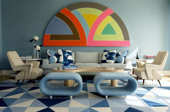 Une décoration pleine de géométrie