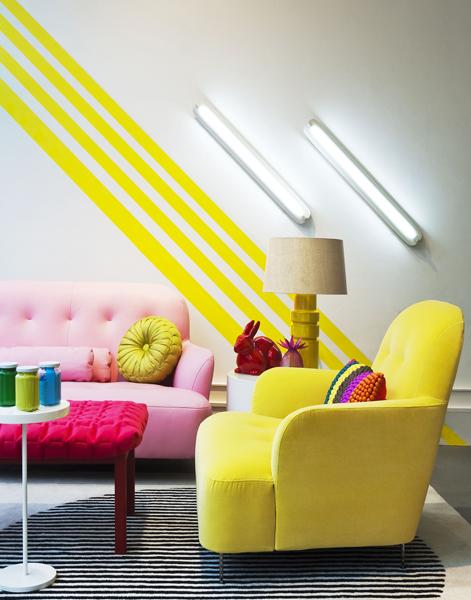 Des intérieurs colorés by David Cleveland