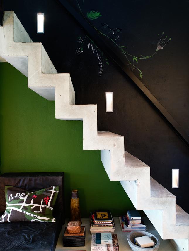 Une déco en vert et noir