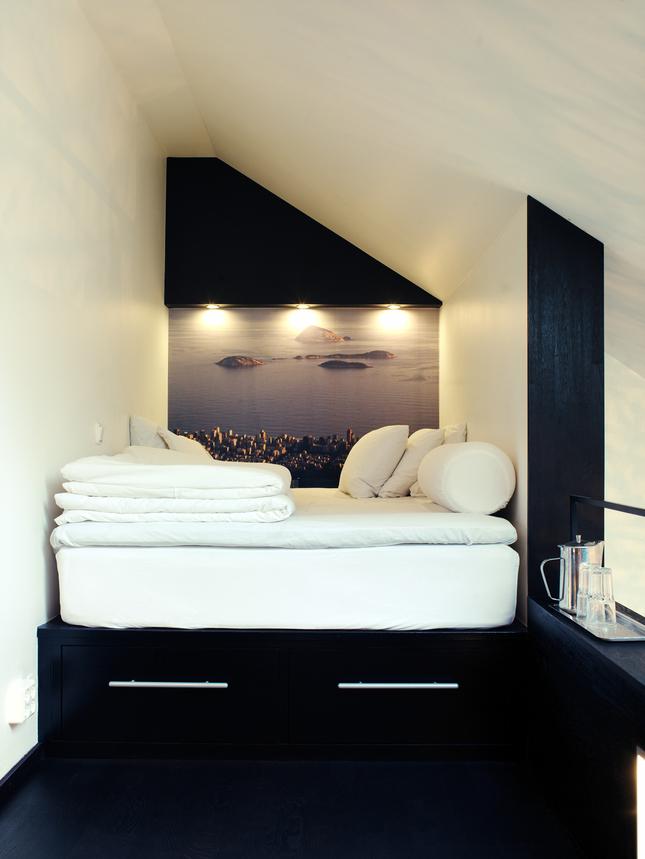 Une déco d'un appartement situé Stockholm