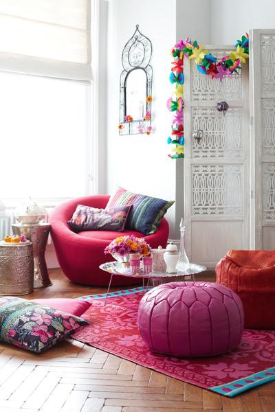 Des intérieurs colorés by Joanna Henderson