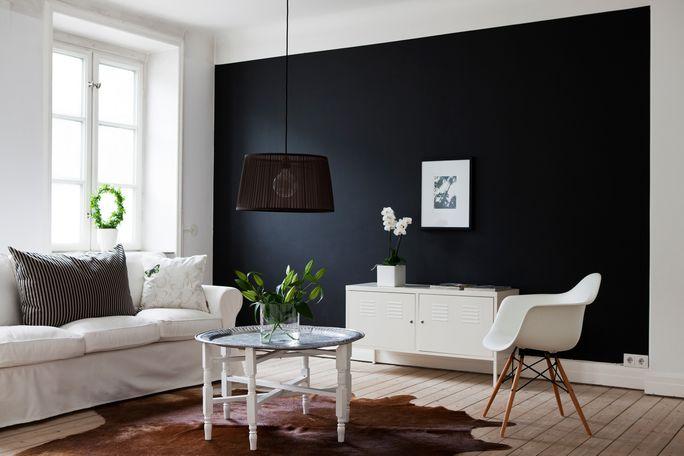 le noir dans les int rieurs frenchy fancy. Black Bedroom Furniture Sets. Home Design Ideas