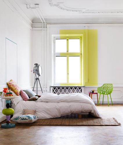 Des intérieurs colorés by Lo Bjurulf