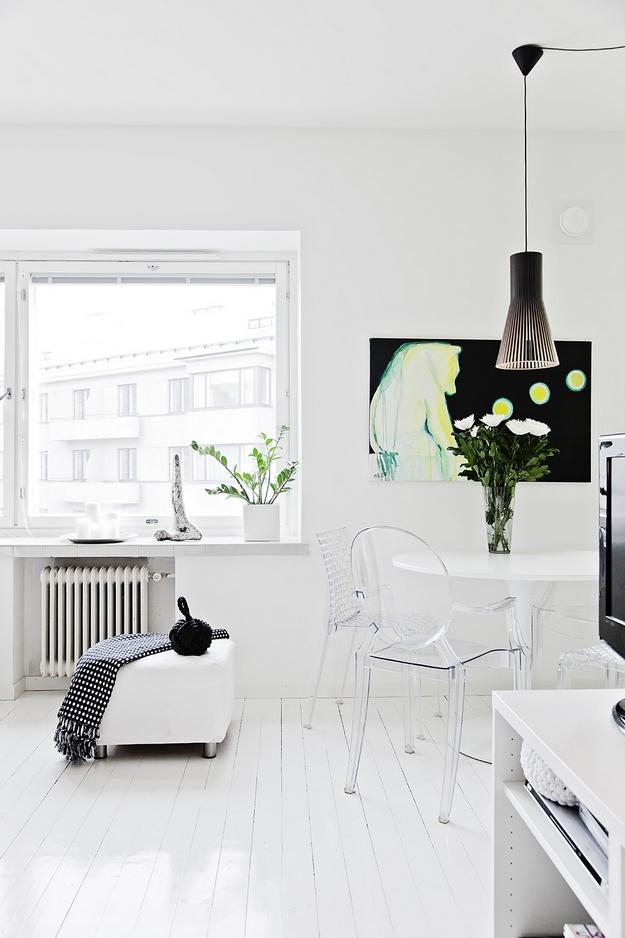 Décoration scandinave chez une blogeuse
