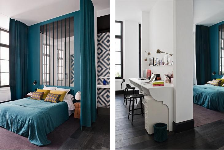 une d coration tr s parisienne frenchy fancy. Black Bedroom Furniture Sets. Home Design Ideas