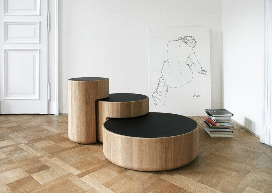Levels, des tables basses design