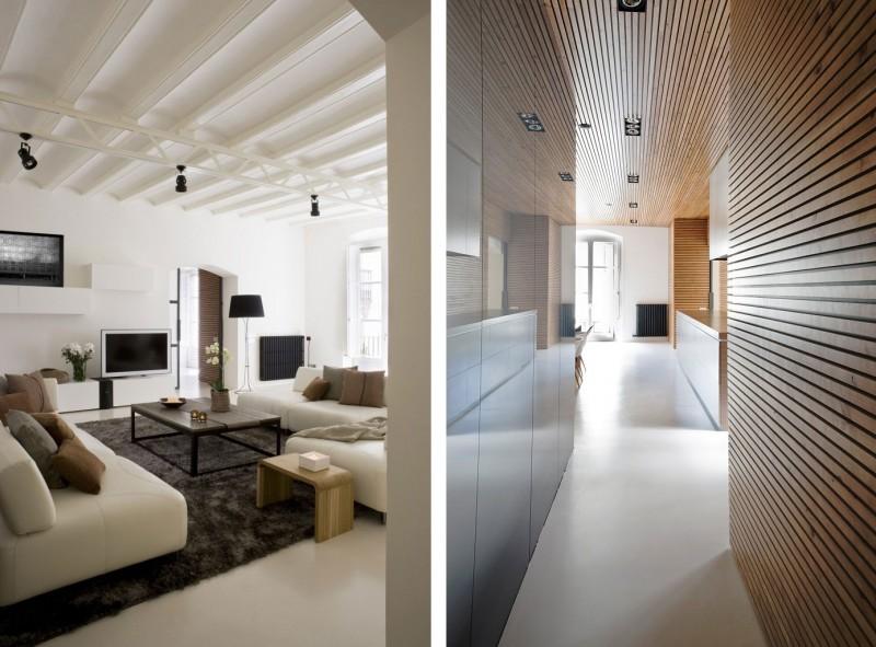 De l'architecture d'intérieur à Barcelone
