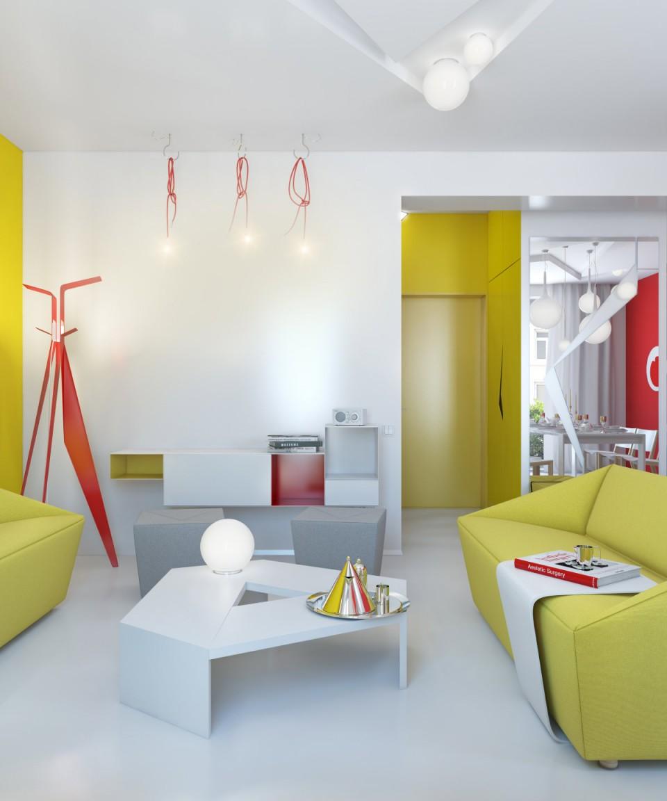 Intérieur coloré by Anna Marinenko