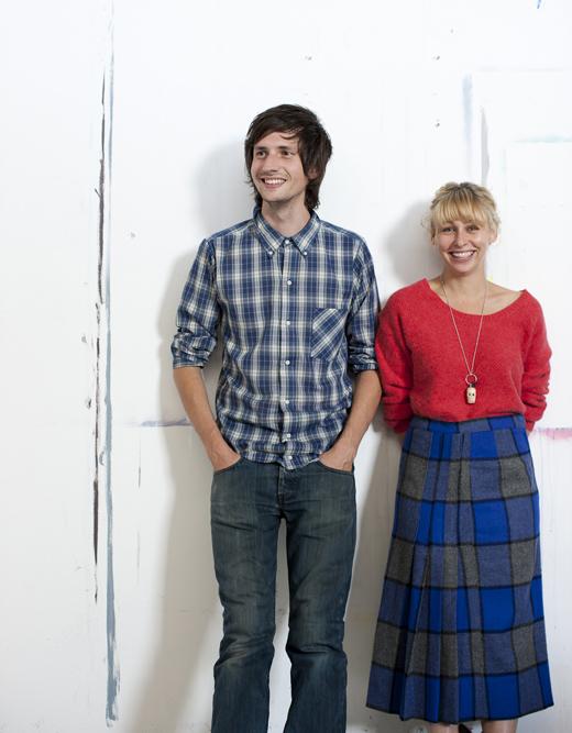 Le couple d'artistes