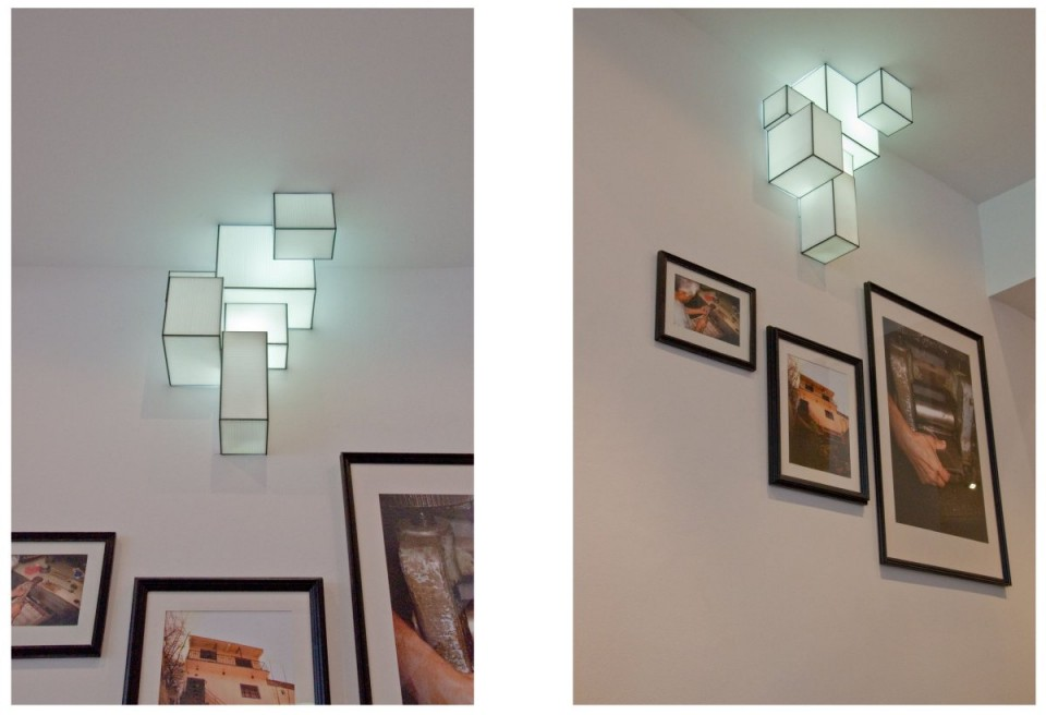 Luminaire Tetris