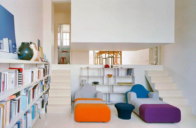 Une architecture cubique pour créer une nouvelle pièce