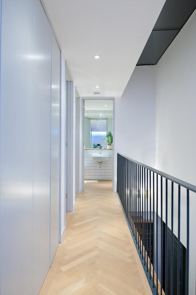 Le couloir de l'appartement
