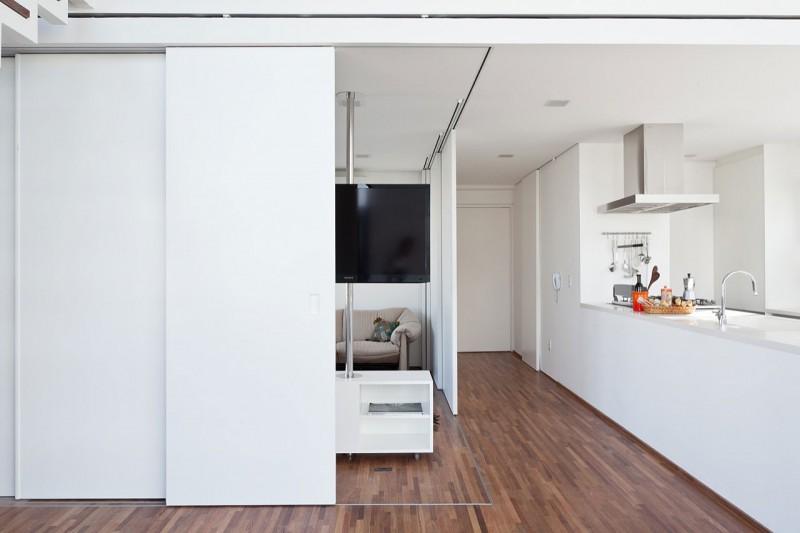 Architecture d'intérieur modulable