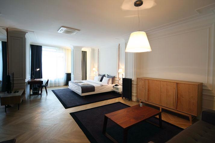 Les chambres de l' hôtel Karaköy Rooms