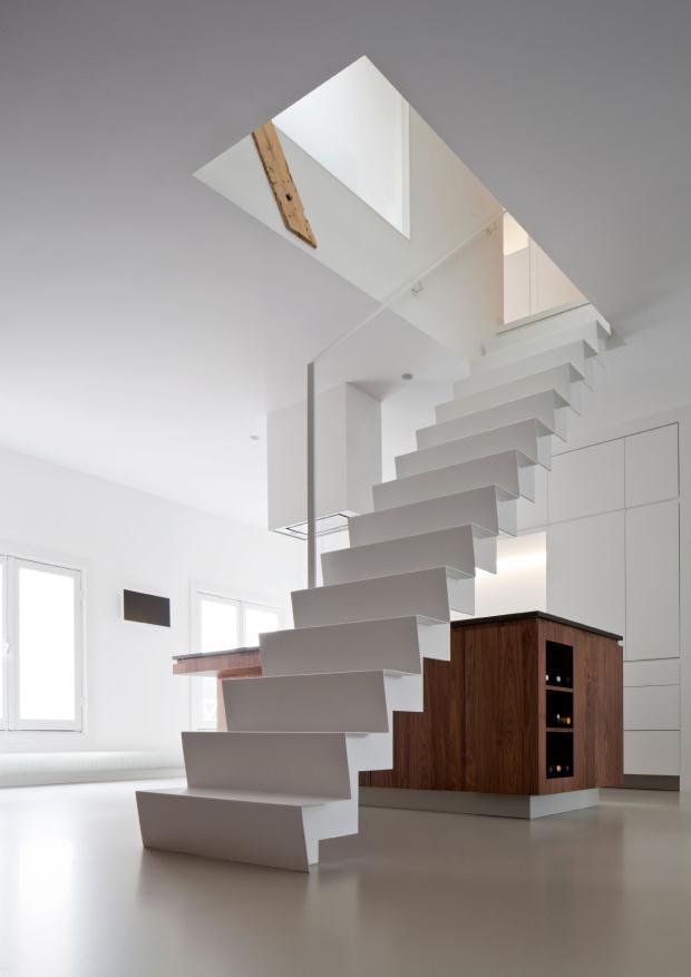 un loft dans l 39 esprit minimaliste frenchy fancy. Black Bedroom Furniture Sets. Home Design Ideas