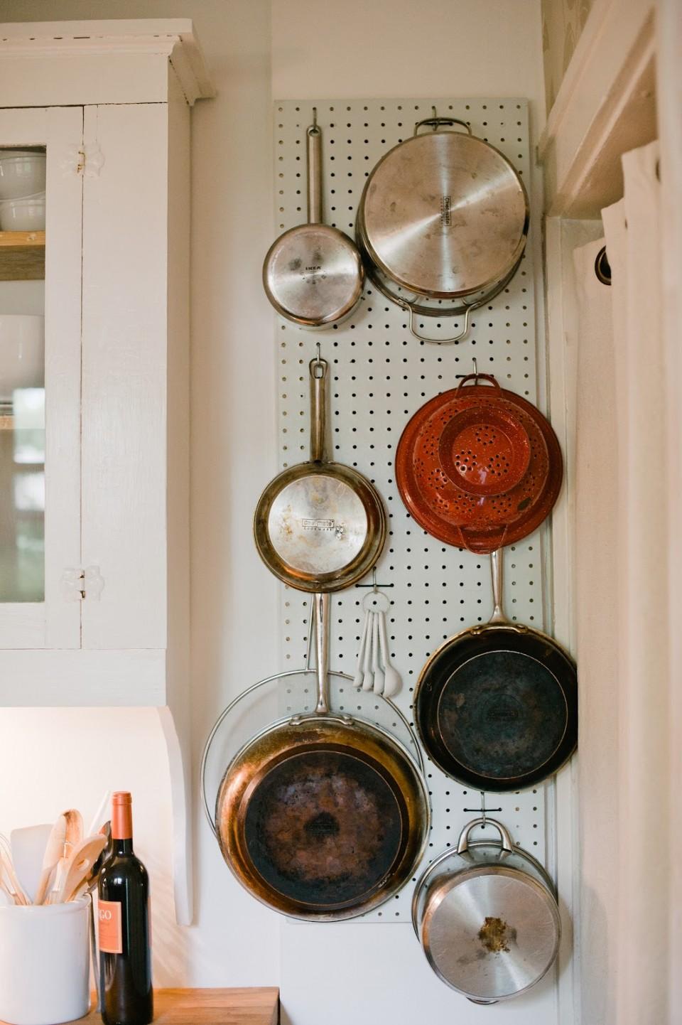 Détails de la décoration de la cuisine
