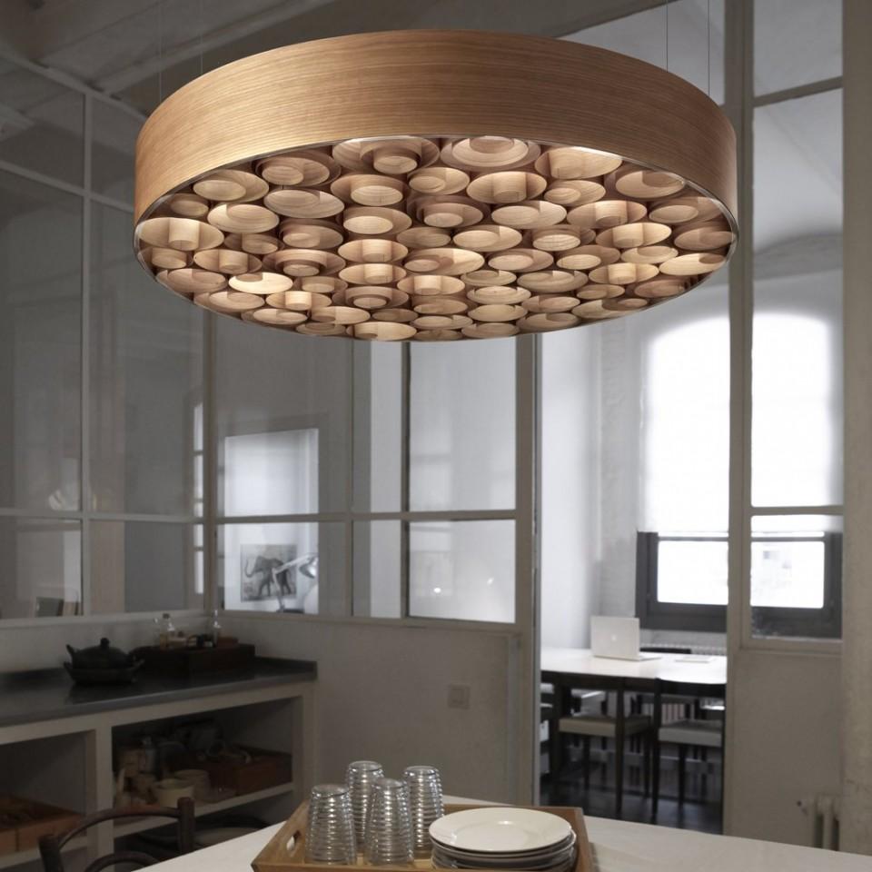 Spiro Lamp en bois