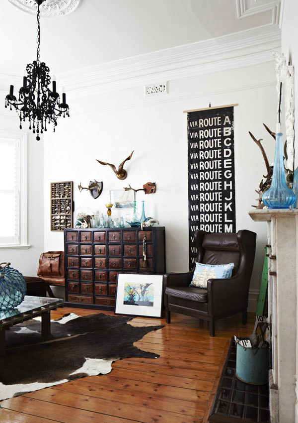 Une d coration clectique tr s r ussie frenchy fancy for Decoration dans la maison