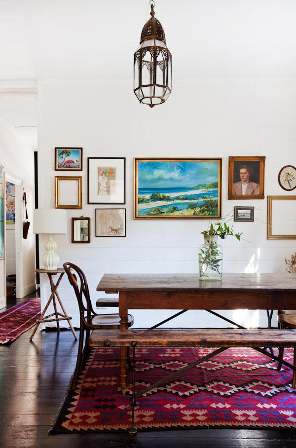 Une maison à la décoration vintage - Frenchy Fancy