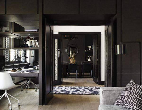 Black home - Coin séjour