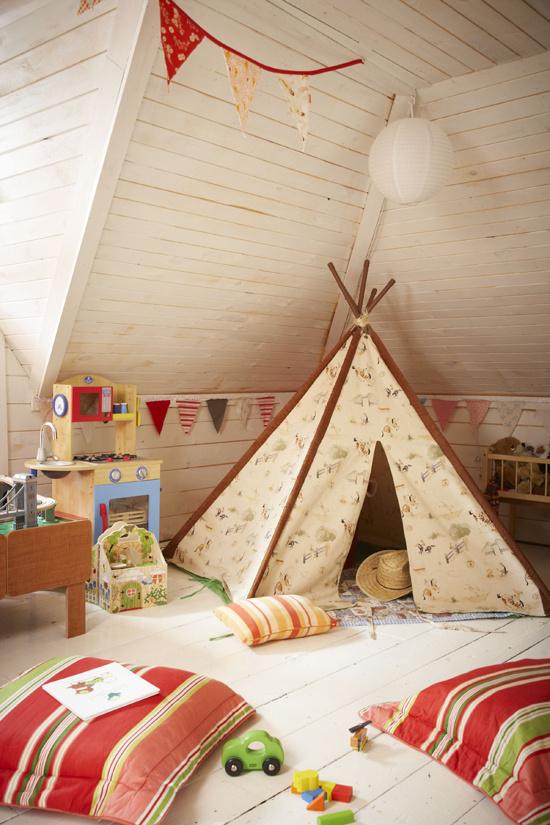 Une jolie chambre d'enfants