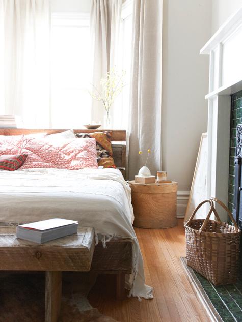 Une chambre vue par une photographe d'intérieurs