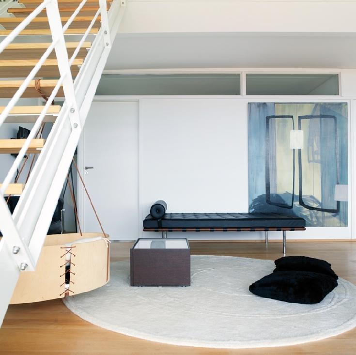 Mobilier signé Jacobsen Le Corbusier et Mies van der Rohe