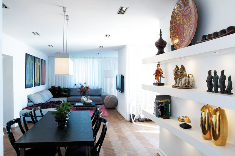 Un appartement inspir des voyages frenchy fancy for Decoration d interieur appartement