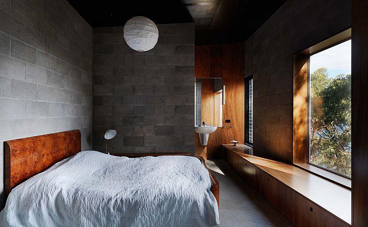 Contraste de matériaux dans la chambre