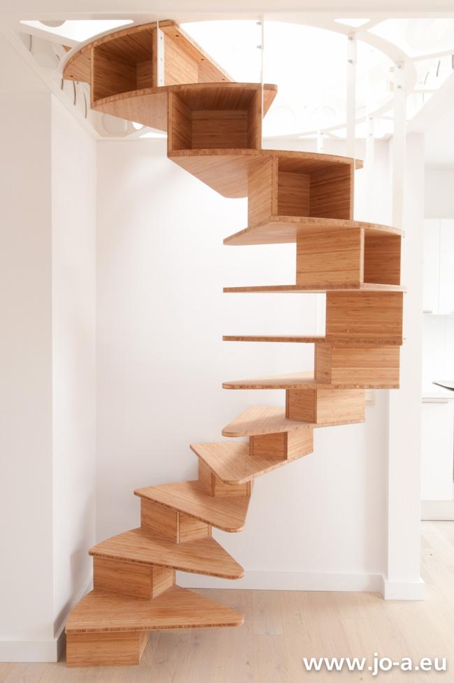 Escalier bois Jo-a