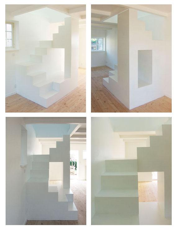 Escalier façon architecture