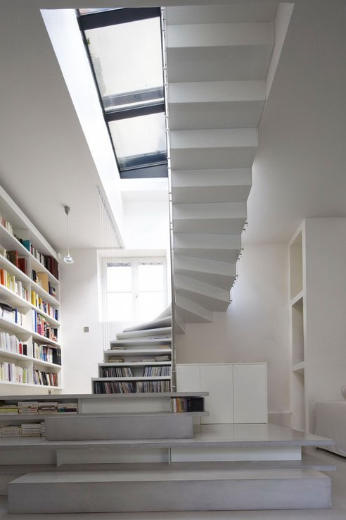 Escaliers bibliothèque