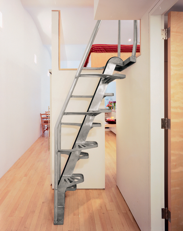 Escalier compacte mais design