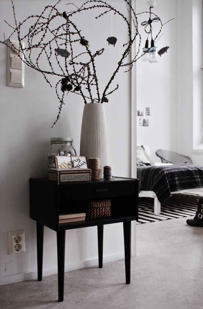 dtails de la dcoration - Decoration Interieur Noir Blanc Gris