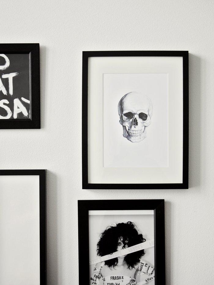 décoration tableau noir et blanc