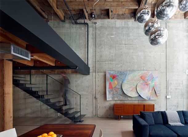 Un loft aux allures contemporaines frenchy fancy for Loft contemporain