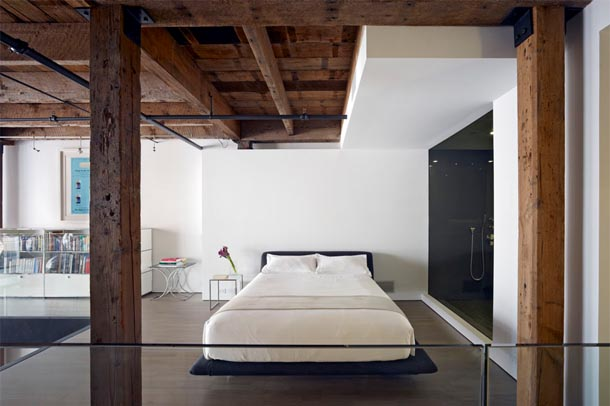 Un loft aux allures contemporaines frenchy fancy for Douche italienne contemporaine