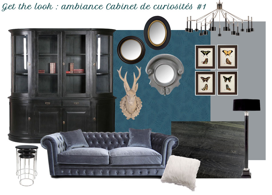 get the look les cabinets de curiosit s frenchy fancy. Black Bedroom Furniture Sets. Home Design Ideas