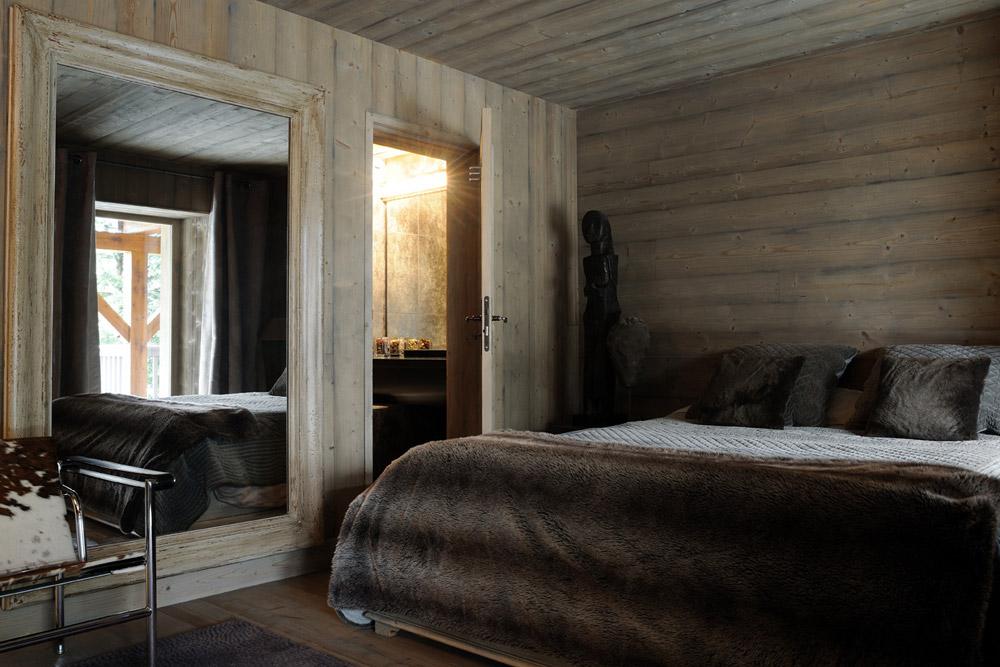 La deuxième chambre du chalet