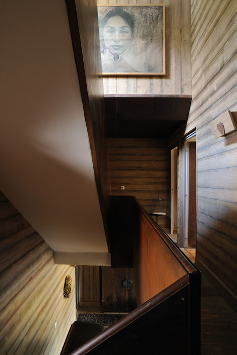 Une décoration d'intérieur chaleureuse pour ce chalet de luxe