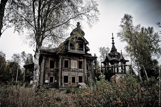 La maison vue de dehors