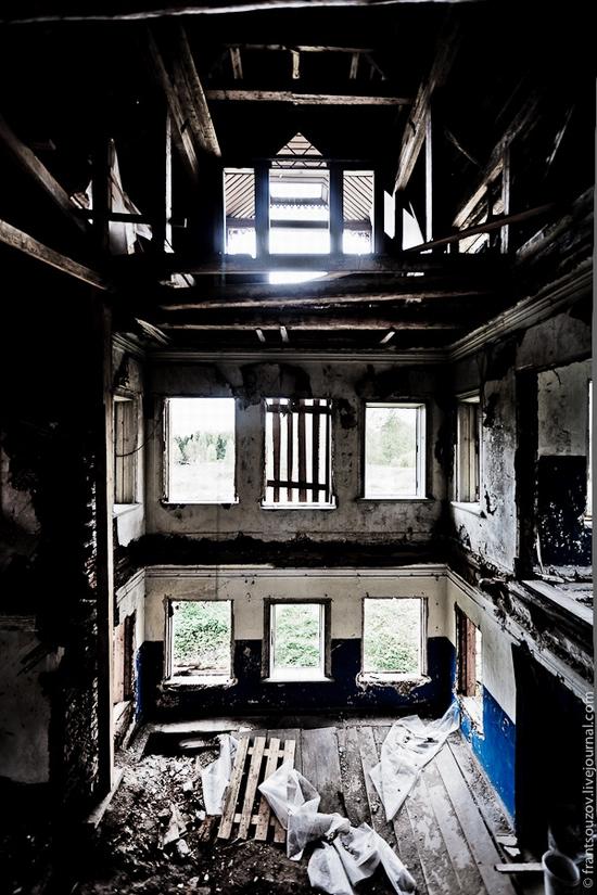 L'intérieur de la maison