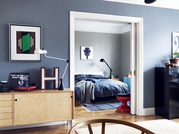 sjour bleu gris - Salon Bleu Canard Et Gris