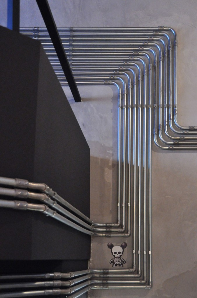 Le loft et sa décoration en tuyaux apparents