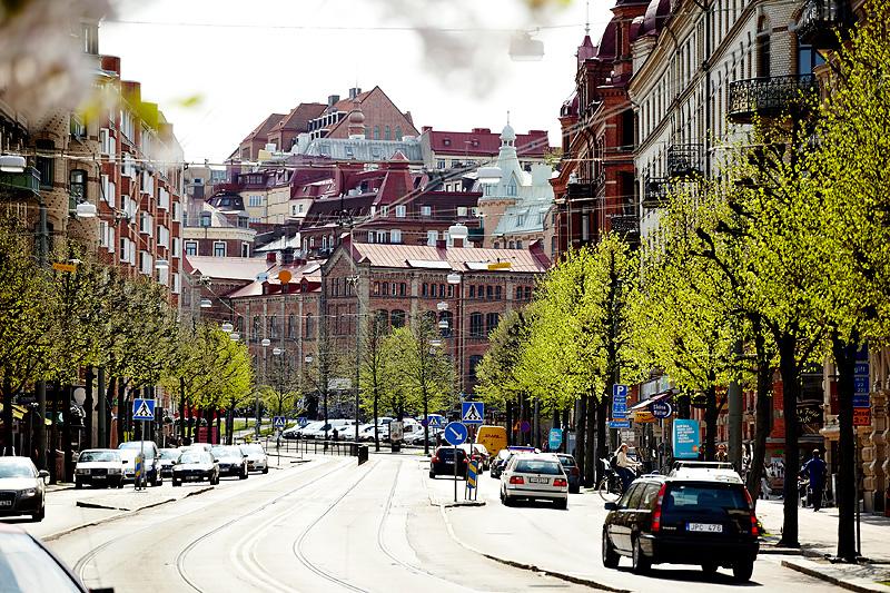 Le paysage scandinave