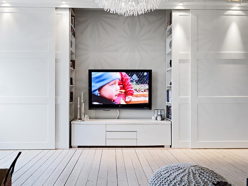 Une super astuce pour cacher sa télé