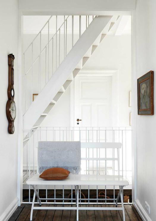 L'escalier très aérien