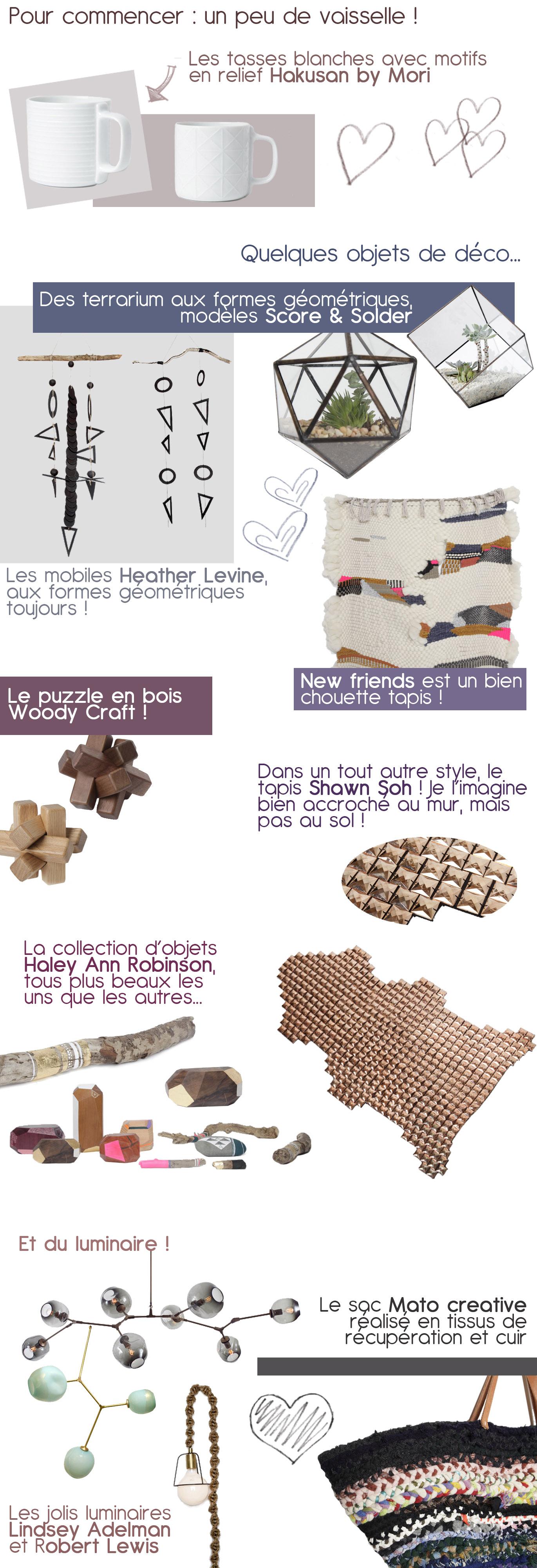 Une sélection d'objets de la marque Totokaelo