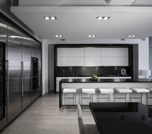 Un Loft Contemporain En Noir Et Blanc Frenchy Fancy