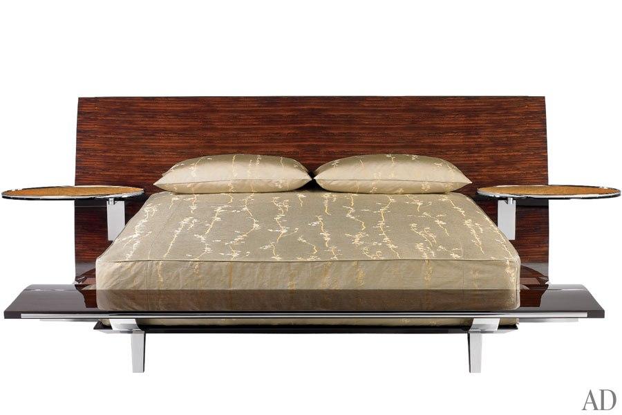 Un lit au design très Art Déco